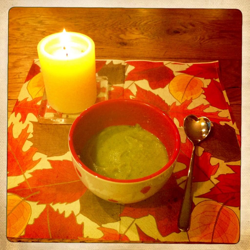 Soupe veloutée de brocoli