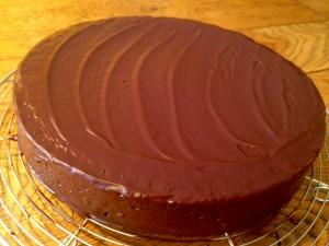 Gâteau chocolat amande (sans gluten)