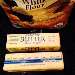 Farine, beurre et mesures
