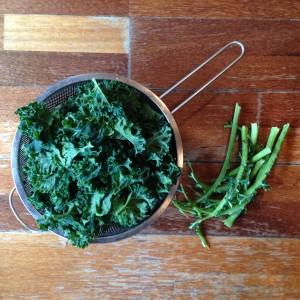 Kale préparé
