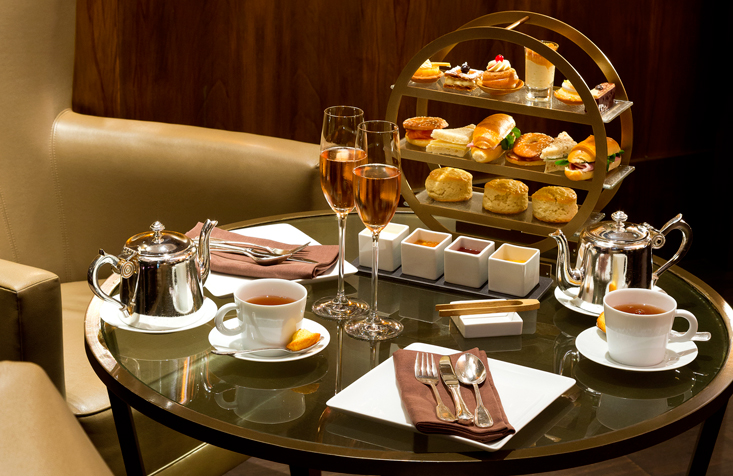 Tea time au Beau-Rivage Palace