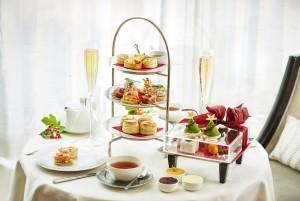 Tea time au Conrad Hotel, Londres