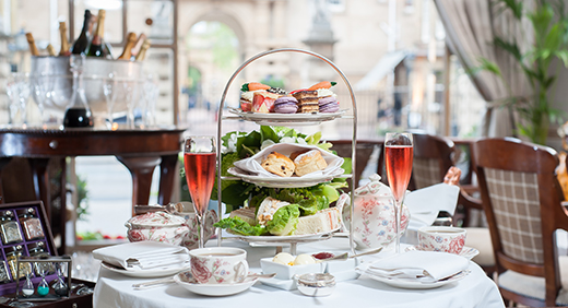 Tea time à l'Hôtel d'Angleterre
